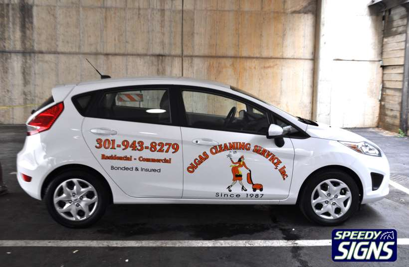 Speedy Signs Commercial Car Wraps