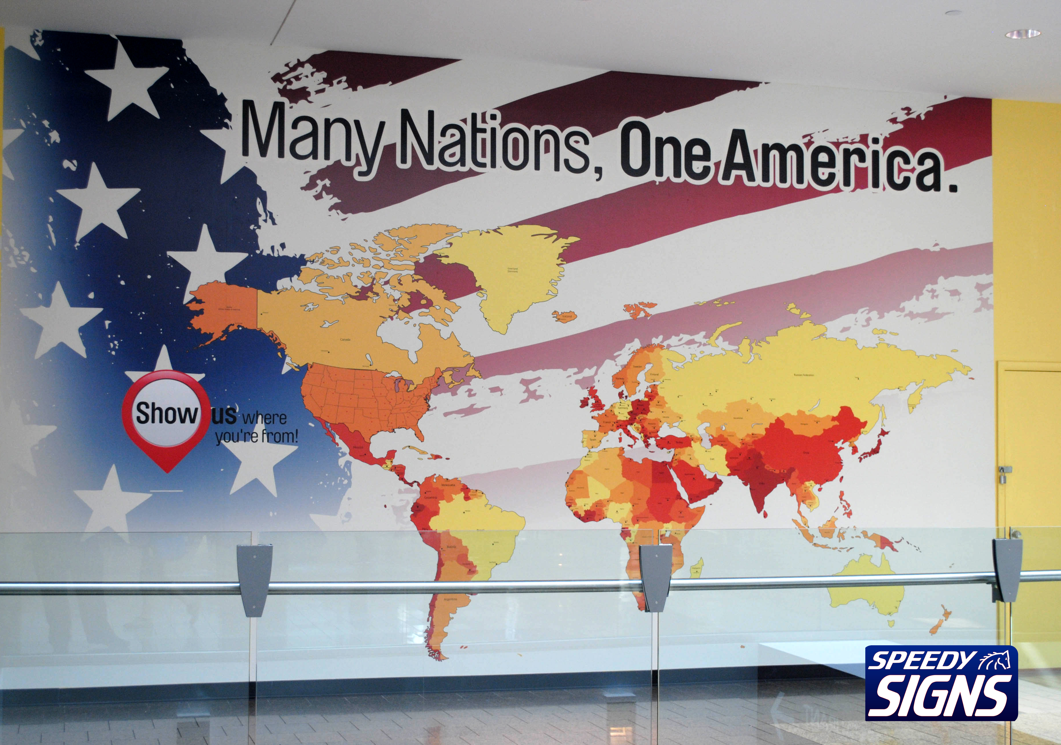 Speedy signs wall wraps many nations wall wrapg gumiabroncs Choice Image