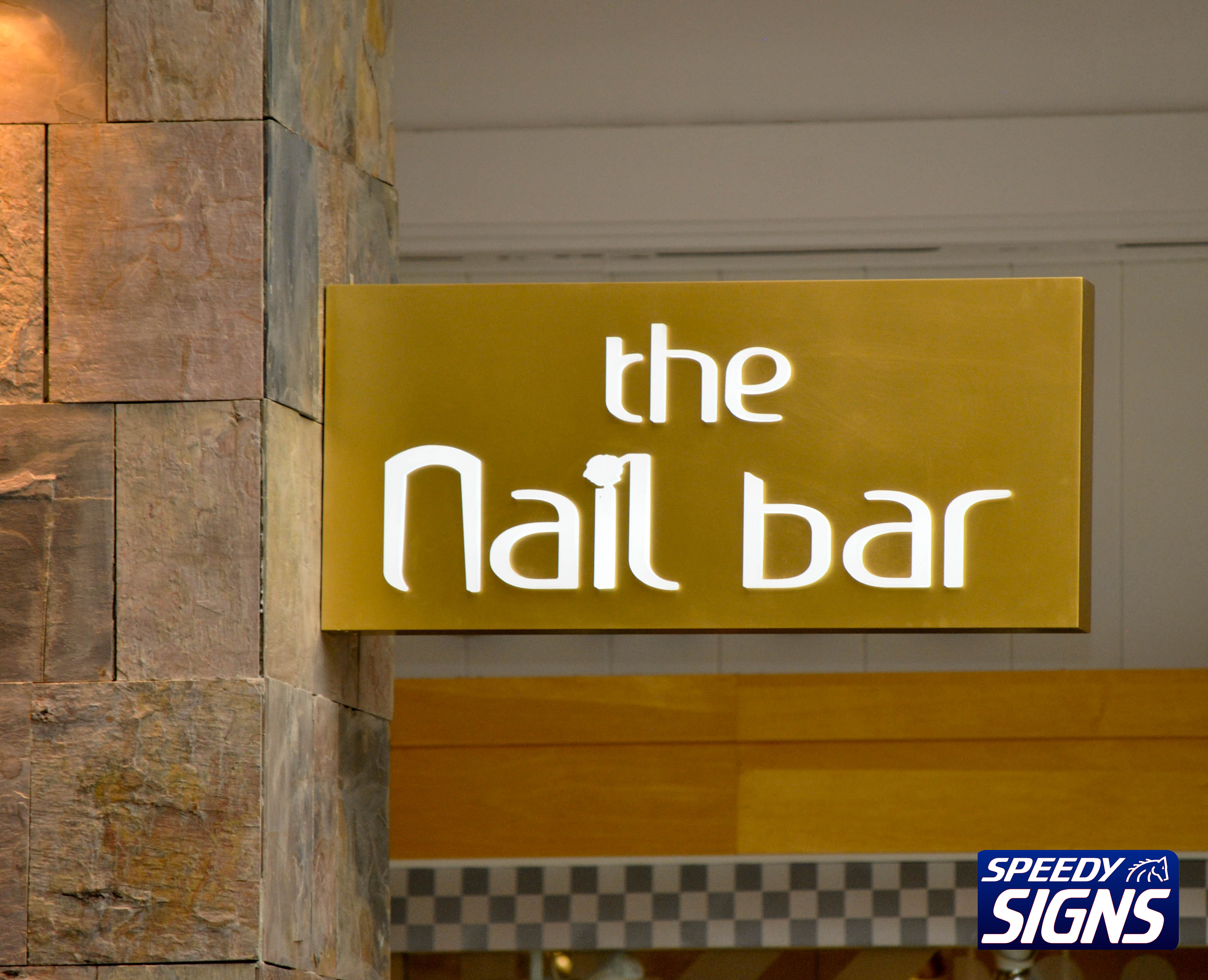 The Nail Bar Blade Sign